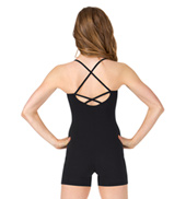 Adult Criss-Cross Back Camisole Biketard