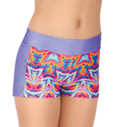 Girls Keenetik Two-Tone Active Dance Shorts