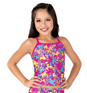 Girls Sunset at the Beach Long Active Camisole Top