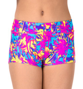 Girls Sunset at the Beach Summer Shorts