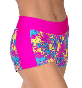 Girls Sunset at the Beach Dance Shorts
