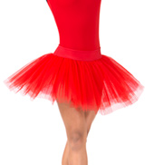 Womens 4-Layer Ballet Tutu Skirt