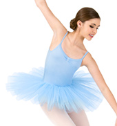 Girls 4-Layer Camisole Ballet Tutu Dress