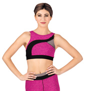 Adult Space Dye Bra Top