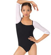 Child Mesh 3/4 Sleeve Leotard