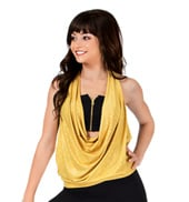 Adult Drapey Front Halter Top