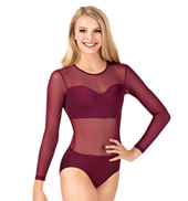 Adult Sweetheart Long Sleeve Leotard
