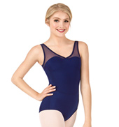 Girls Powermesh Tank Leotard