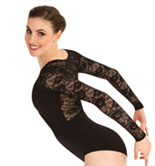 Girls Tiler Peck Long Sleeve Lace Leotard