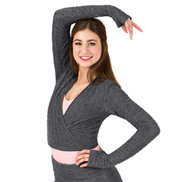 Adult Tiler Peck Textured Wrap Sweater