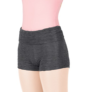 Adult Tiler Peck Textured Roll Waist Shorts