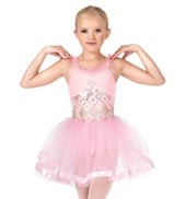 Child Sequin Starburst Tank Tutu Costume Dress