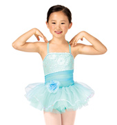Child Asymmetrical Sparkle Camisole Tutu Costume Dress