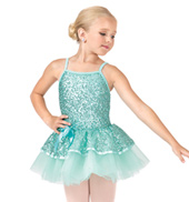 Child 2-Tier Sequin Camisole Tutu Dress