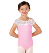 Girls Sweet Surrender Short Sleeve Ballet Leotard