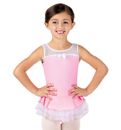 Girls Sweet Surrender Scoop Neck Ballet Tank Dress