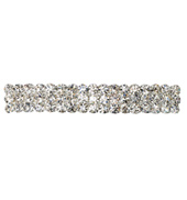Crystal Barrette French Clip Small