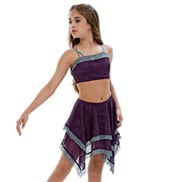Adult/Girls Third Eye Camisole Costume Set without Rhinestones