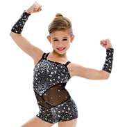Adult/Girls Wild Girls Camisole Unitard with Rhinestones
