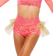 Womens/Girls Levels High Waist Filigree Shorts
