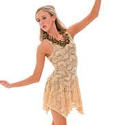 Womens/Girls Leave Me Lonely Lyrical Lace Tank Dress without Rhinestones