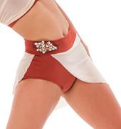 Womens/Girls Say You Will Short Mesh Bustle Skirt