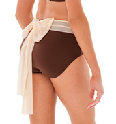 Womens/Girls Sweet Nothing Mesh Bow Briefs