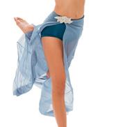 Womens/Girls Vision Of Love Long Open Front Mesh Skirt