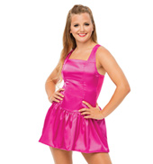 Womens/Girls Sweetest Devotion Satin Tank Dress without Rhinestones