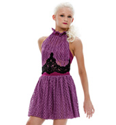 Adult/Girls Heavy in Your Arms Dress with Feathers