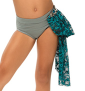 Womens/Girls Beyond Words Lace Bustled Brief without Rhinestones