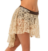 Womens/Girls Best For Last High-Low Lace Skort without Rhinestones