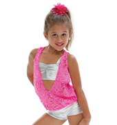 Adult/Girls Rather Be Top & Shorts Costume Set