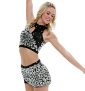 Adult/Girls Pretty Girls Costume Set with Rhinestones
