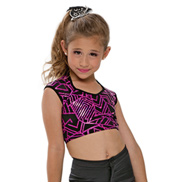 Adult/Girls Dynamite Short Sleeve Crop Top