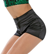 Adult/Girls Bang Bang Metallic Shorts