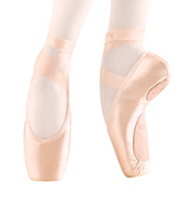 Adult EuroStretch Stretch Satin Pointe Shoes
