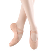 Child Pump Canvas Split-Sole Ballet Slippers