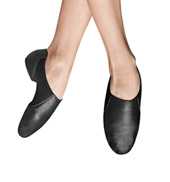Girls Spark Split Sole Leather Jazz Shoes