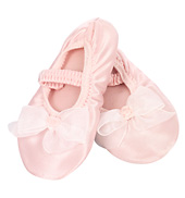 Little Princess Satin Slippers