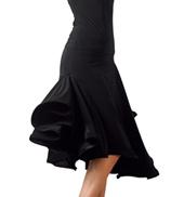 Adult Asymmetrical Crinoline Ballroom Skirt