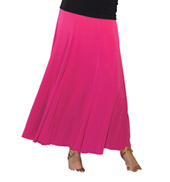 Womens 8 Panel Ballroom Skirt