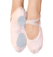 Adult Canvas Split Sole Ballet Shoes