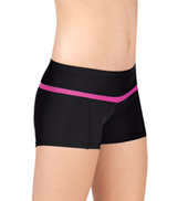Girls Color Block Dance Shorts