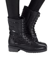 Girls Combat Boot