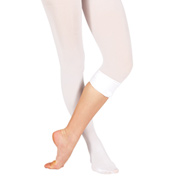 Adult Plus Size Convertible Tights with Smooth Self-Knit Waistband