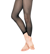 Girls Basic Capri Fishnet Tights