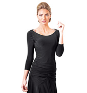 Adult Long Sleeve Ballroom Top