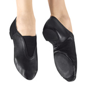 Girls Gore Top Jazz Shoes