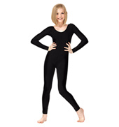 Girls Team Basics Long Sleeve Unitard